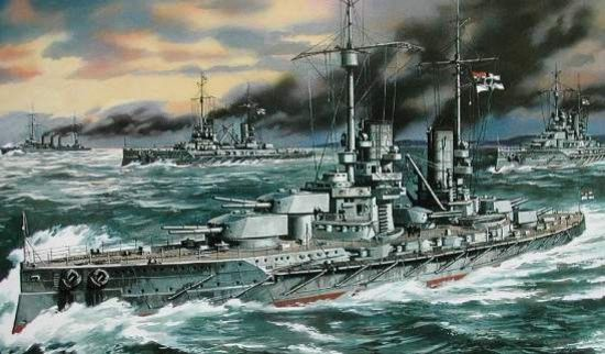 Grosser Kurfürst WWI German Battleship