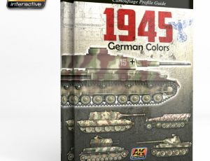 1945 German Colors, Camo Profile Guide