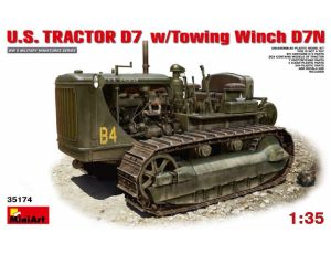 U.S.Tractor D7 w/Towing Winch D7N